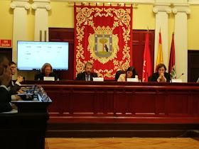 Constitución de la Junta Municipal de Tetuán.