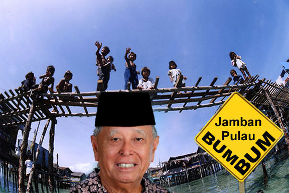Malaysians Must Know the TRUTH: BUM BUM BRIDGE, JUST A WASTE!
