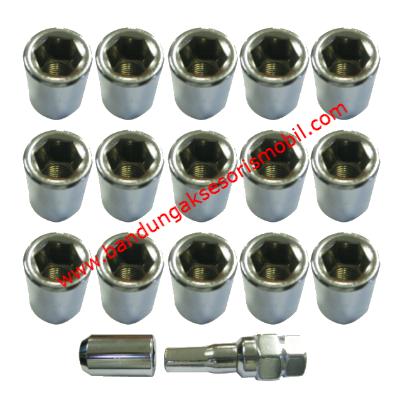 Baut Futura / Carry (12MMx1.25) Silver