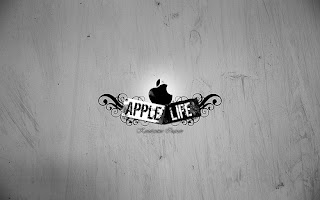 Apple life Mac logo