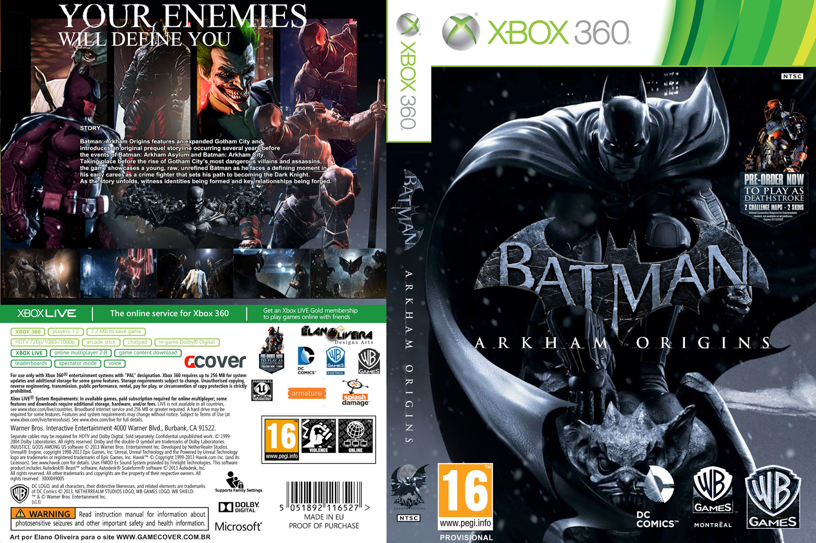 batman origin The best place to get cheats, codes, cheat codes, walkthrough, guide, faq, unlockables, trophies, and secrets for batman: arkham origins for playstation 3 (ps3.