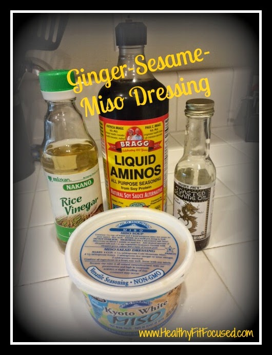 Ginger-Sesame-Miso Dressing - Ultimate Reset Recipe
