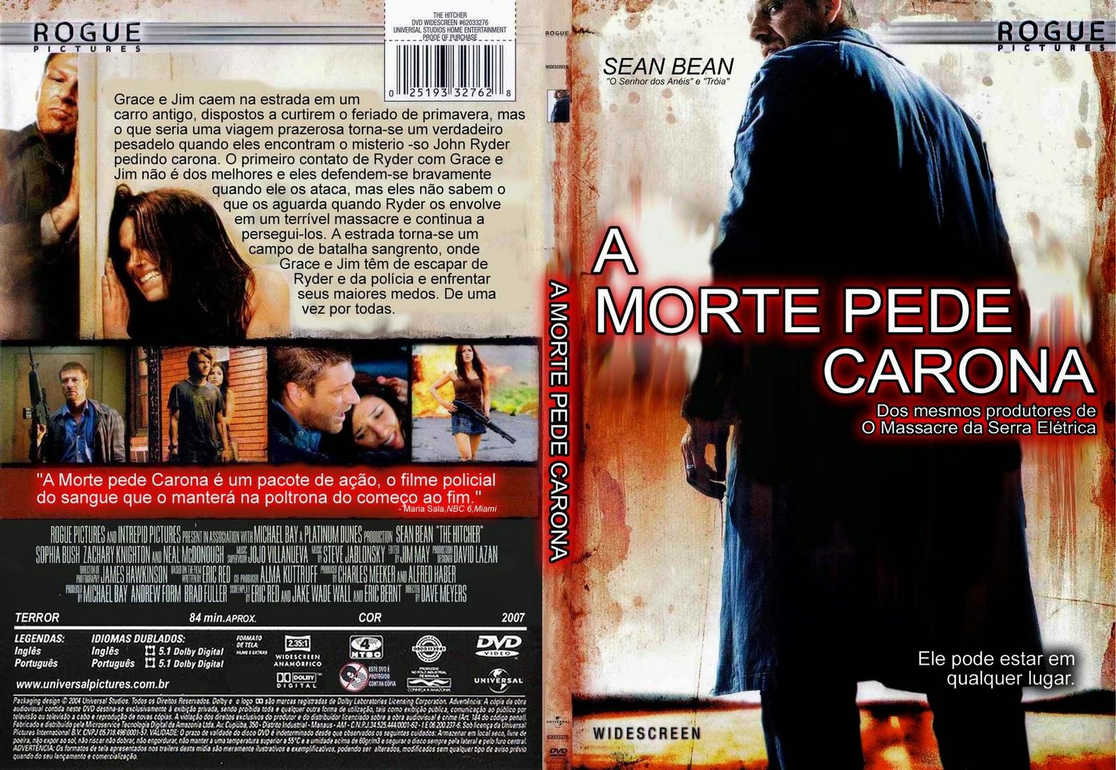 A Morte Pede Carona DVD Capa