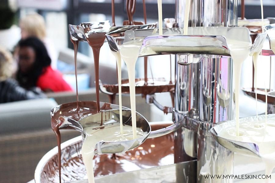 #bourjoissummer bourjois paris product launch my pale skin chocolate fountain