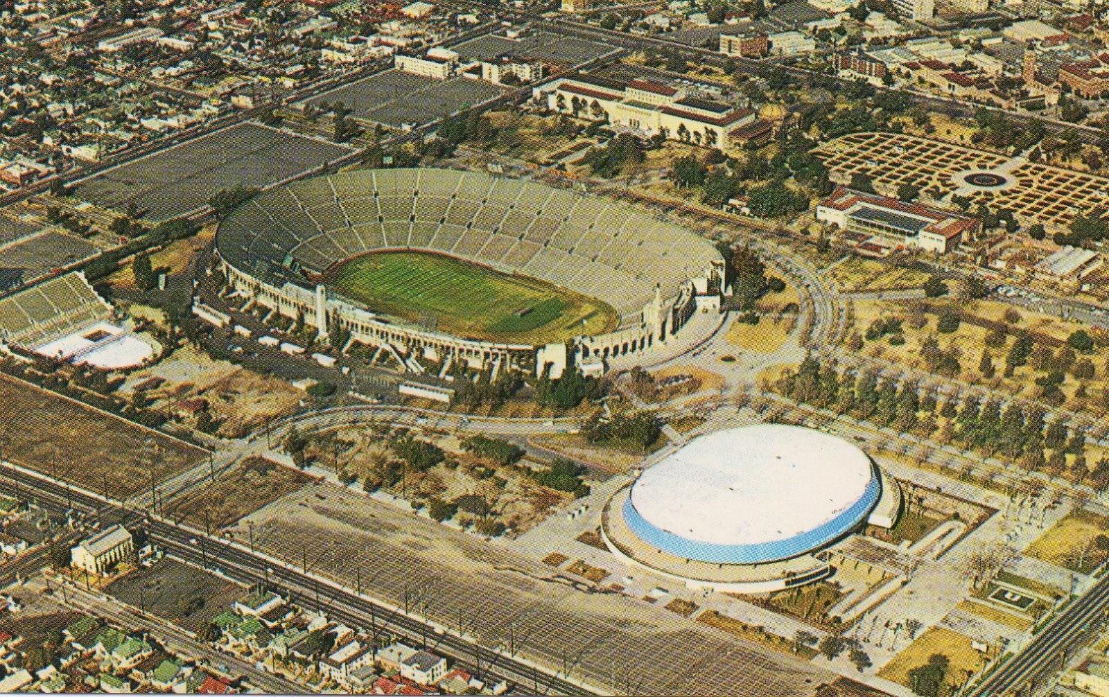 Los Angeles Coliseum & Sports Arena 1950's