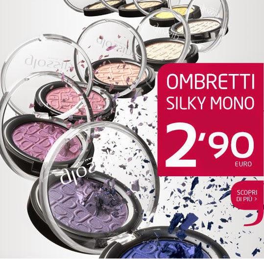 Glossip Make-Up - Ombretti in promozione