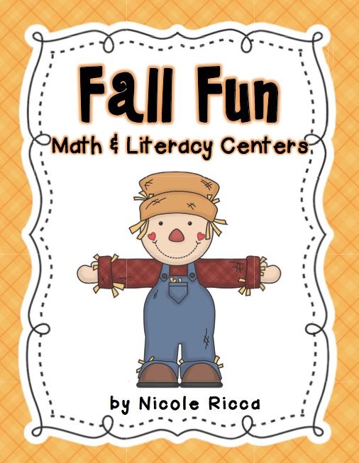 http://www.teacherspayteachers.com/Product/October-Math-Literacy-Centers-334560