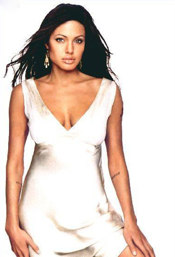 Angelina Jolie Long Haircuts 7