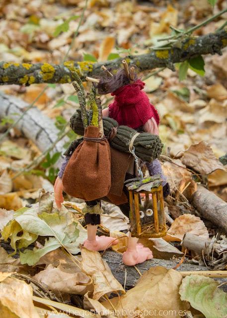 goblin fantasy creature ooak handmade legendary