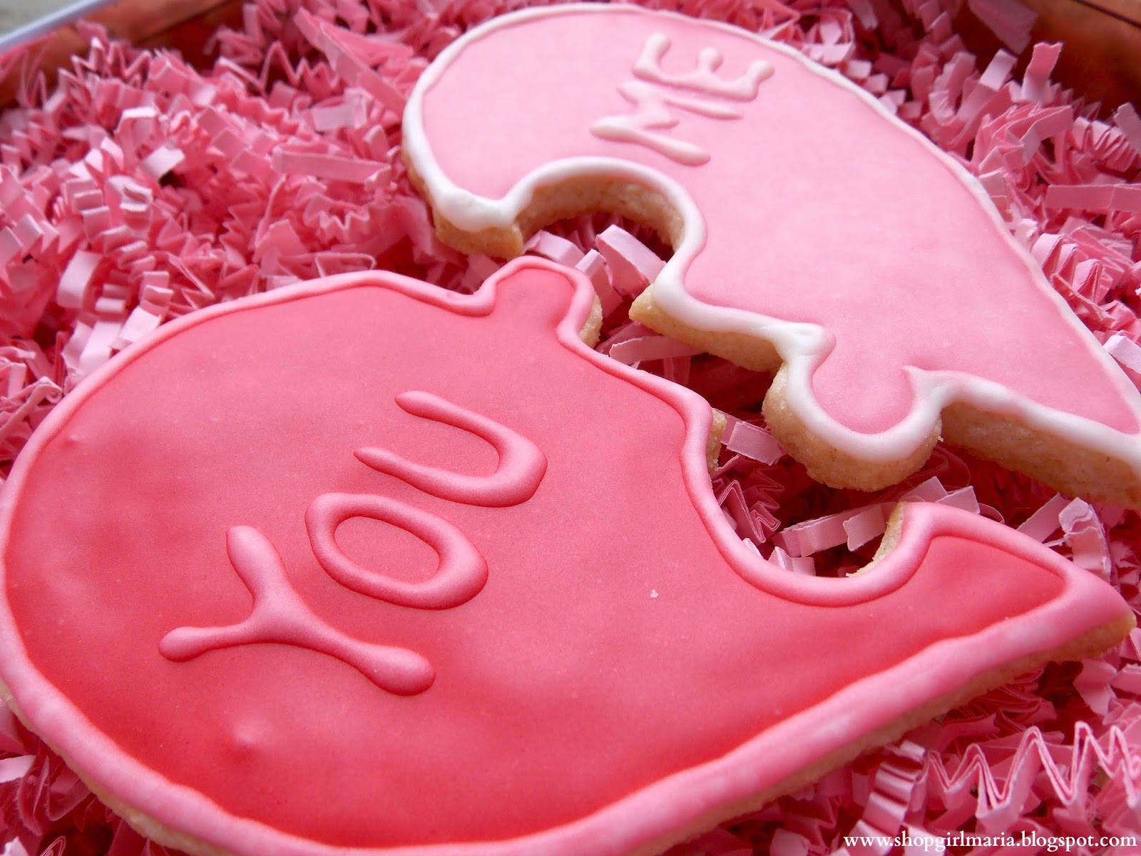 Valentine S Day Heart Puzzle Cookies A Homemade Living