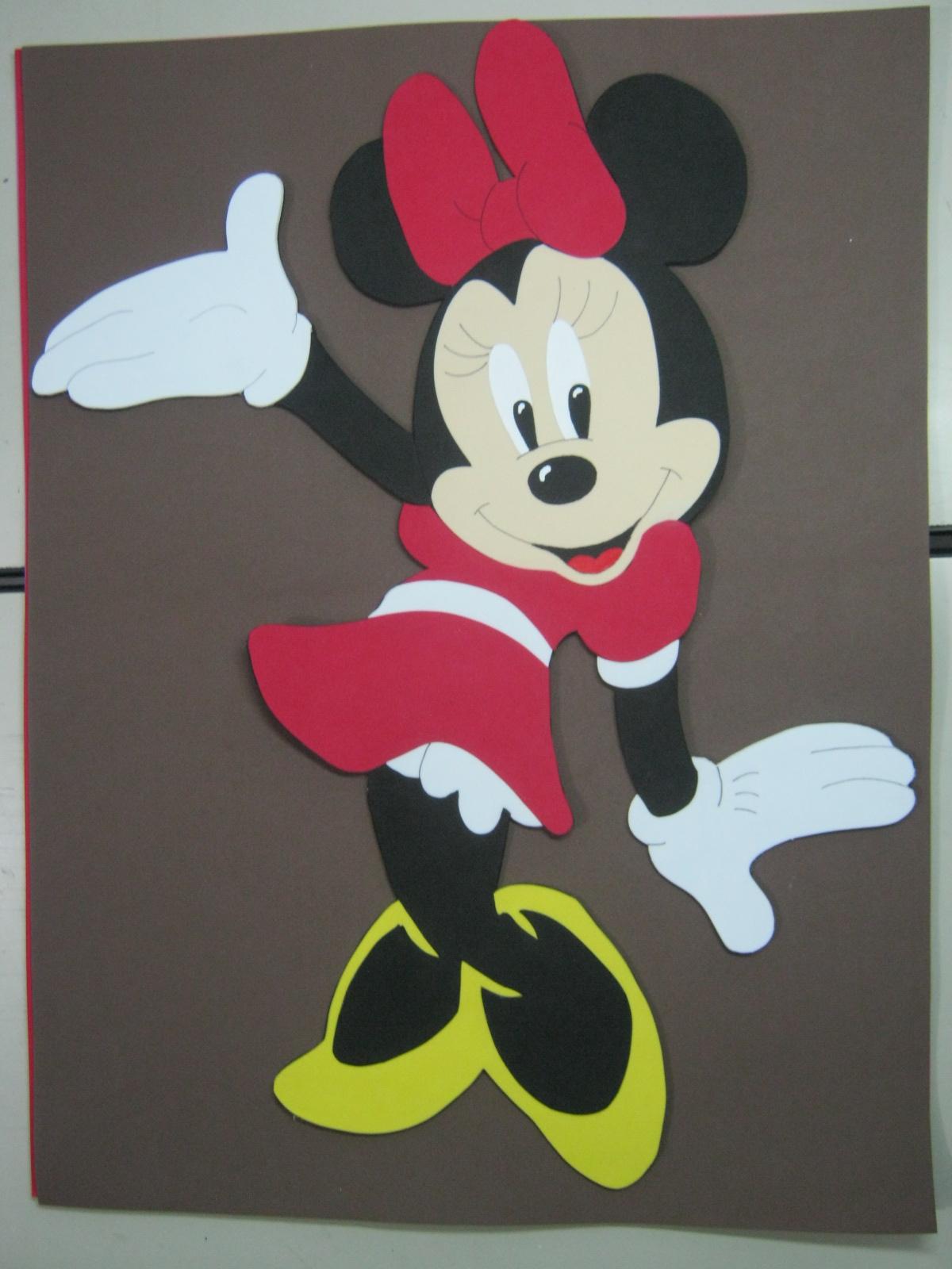 Mis Fofuchas 2013 Artfoamicol: Como Hacer Minnie Mouse En Foamy ...