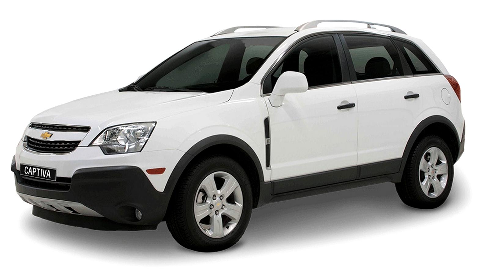 Chevrolet Captiva ganha pequenas mudanças para a linha 2013   CAR