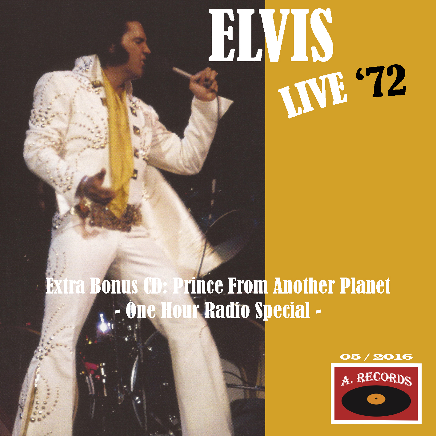 Elvis Live '72 (May 2016)