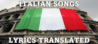 lyrics translated best italian songs