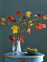 букет есенни листа