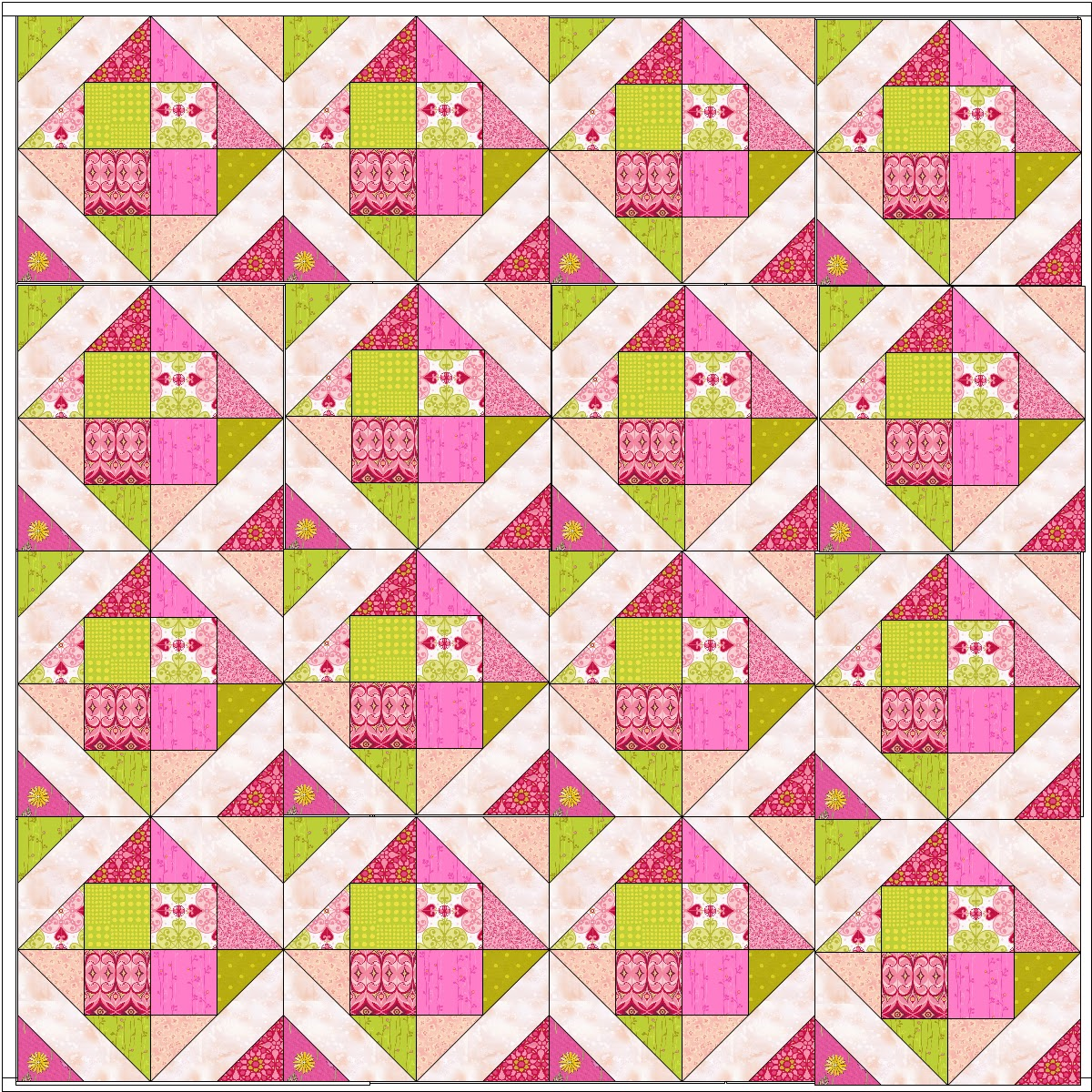 Quilting Patterns Instructions : Happy Quilting: Quilt-Along s