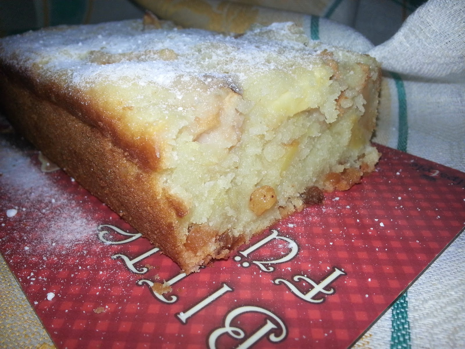 Пирог из кефира с яблоками рецепт пошагово