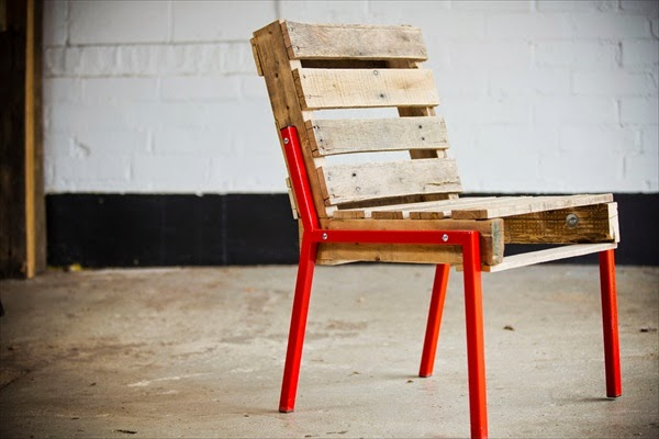 Wood Pallet Chair