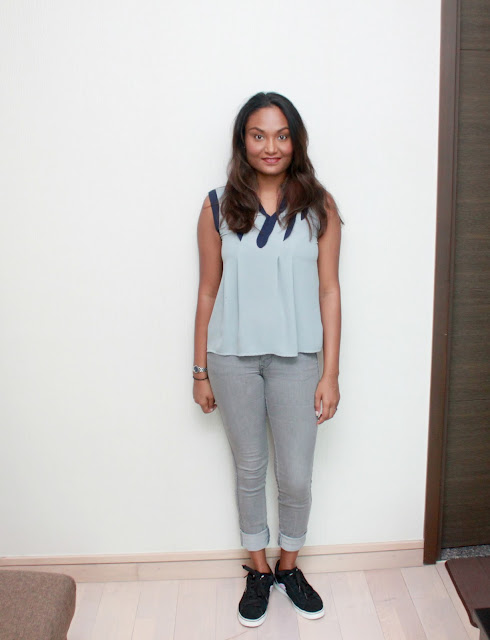 AN GREY OUTFIT
