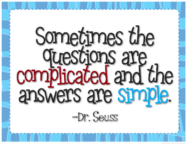 Classroom Freebies: FREE Dr. Seuss Quote Inspired ...