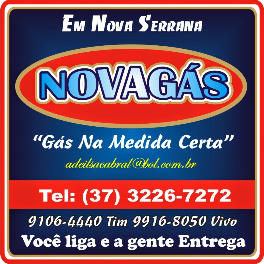 Gás em Nova Serrana Novagás