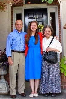 Rob, Emily & Grandma