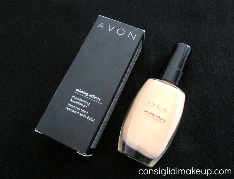 Review: fondotinta illuminante Calming Effects in Almond - Avon