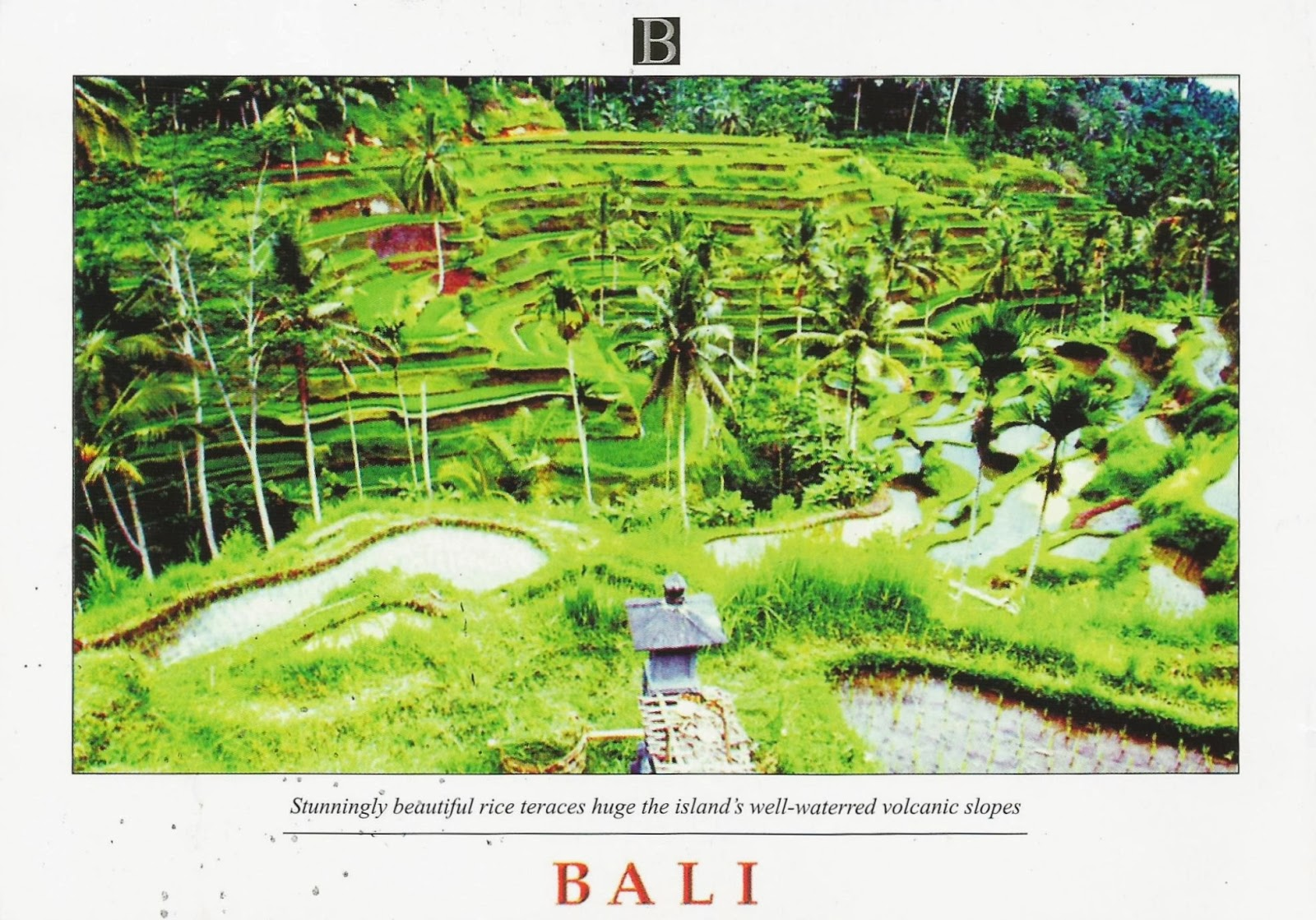 Postcards On My Wall Cultural Landscape Of Bali Province The