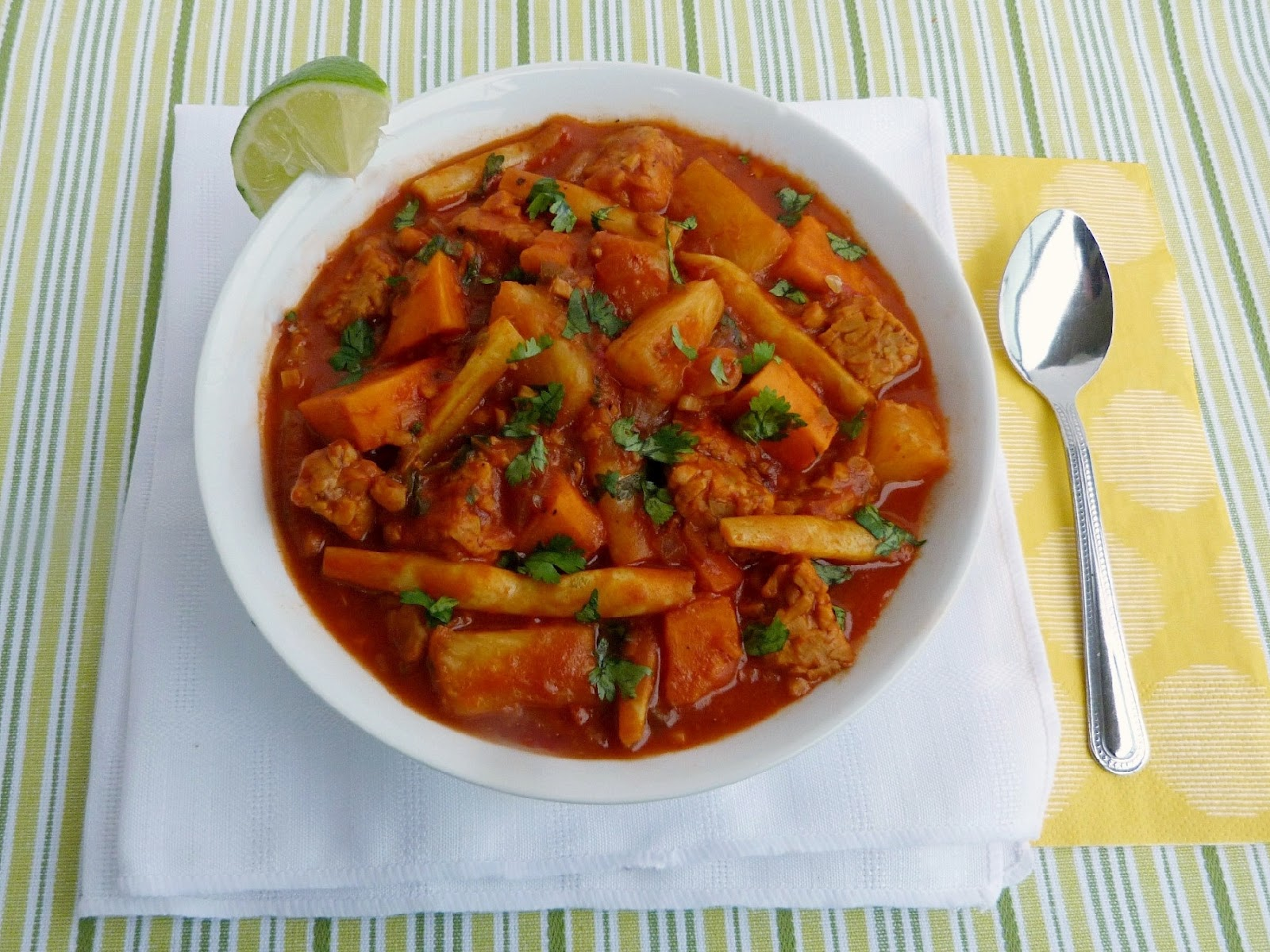 Vanilla & Spice: Indonesian Tempeh Stew
