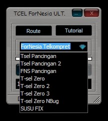 Inject Telkomsel ForNesia Ulimate 2.6.1 13 Desember 2014