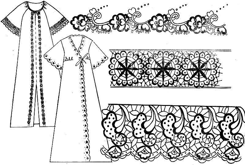 Жіноча сорочка вишита бісером схема