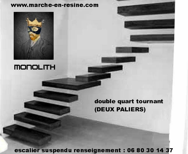 escalier suspendu quart tournant esclier suspendu. Black Bedroom Furniture Sets. Home Design Ideas