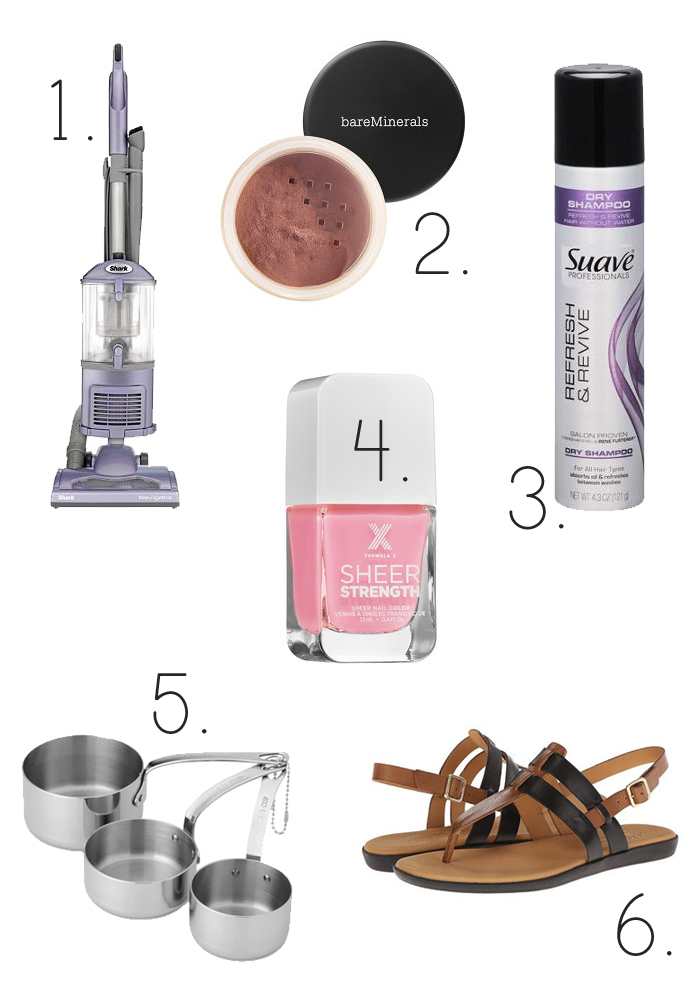 Six products to make a mom's life better. Number 3 will change your life for less than $3!