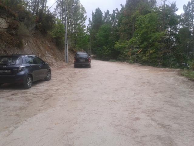 Zona do Parque de estacionamento