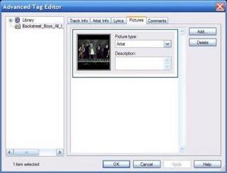 Cara menambah gambar pada lagu MP3