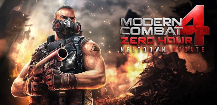Modern Combat 4 Android [DESCARGAR] Apk + Datos Sd