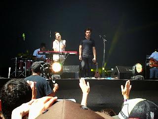 Natalia Lafourcade y Gepe en Lollapalooza Chile