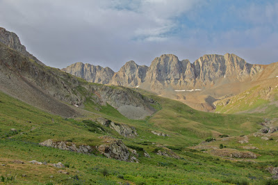 American Basin is one of the most scenic areas of Colorado