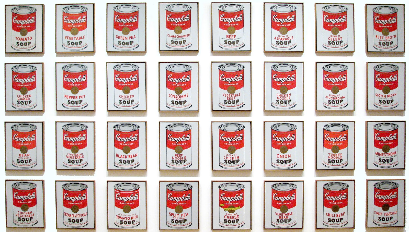 Geocuration: The Art Machine: Andy Warhol's Pop Art