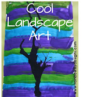 cool landscape art www.rainbowlilydesigns.com