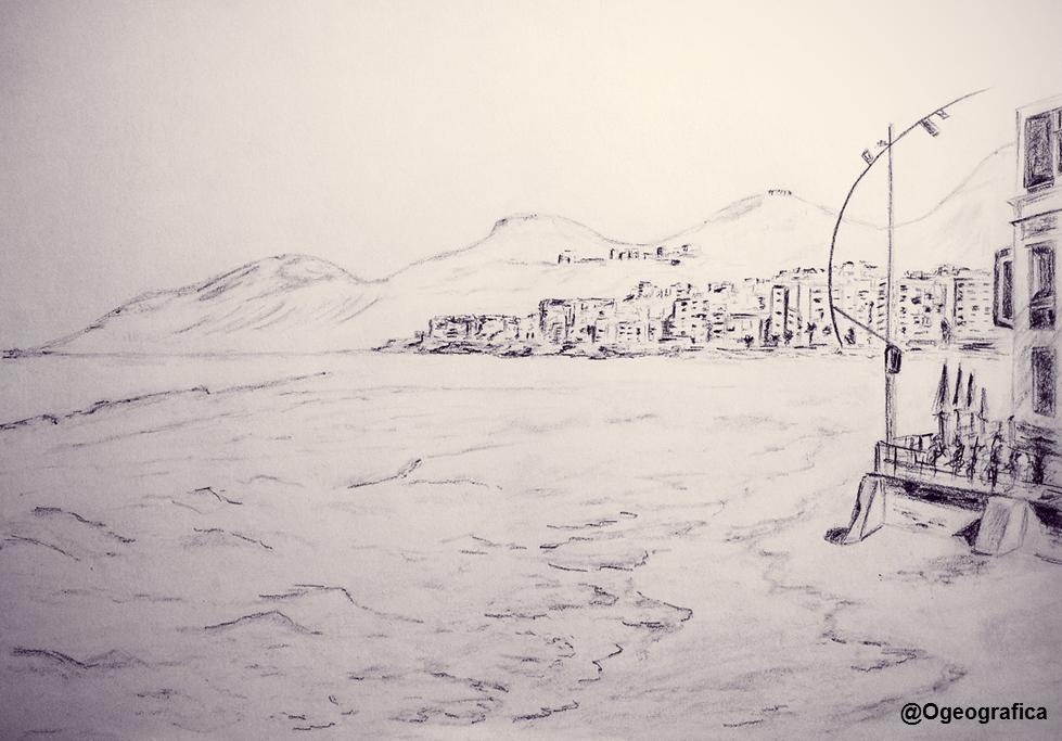 Boceto Playa de Las Canteras