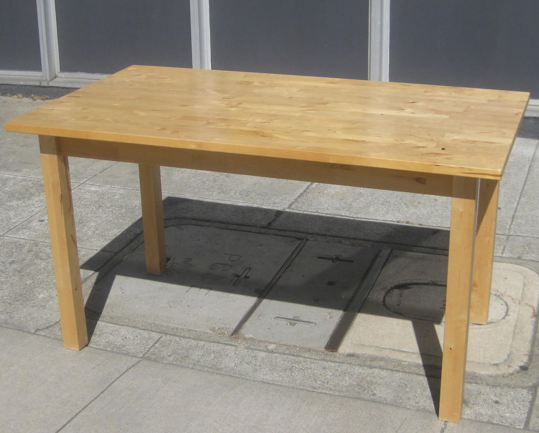 butcher block table ikea images