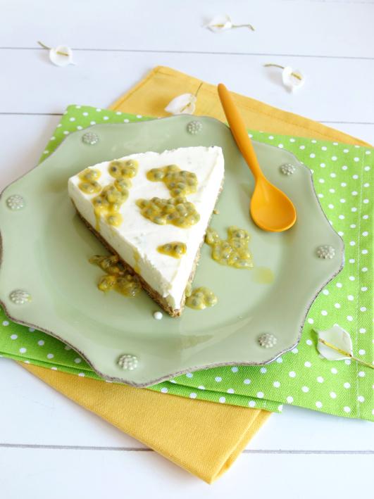 tarte de lima e maracujá