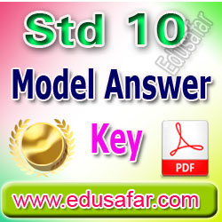 Std 10 Model Answer Key by GSEB