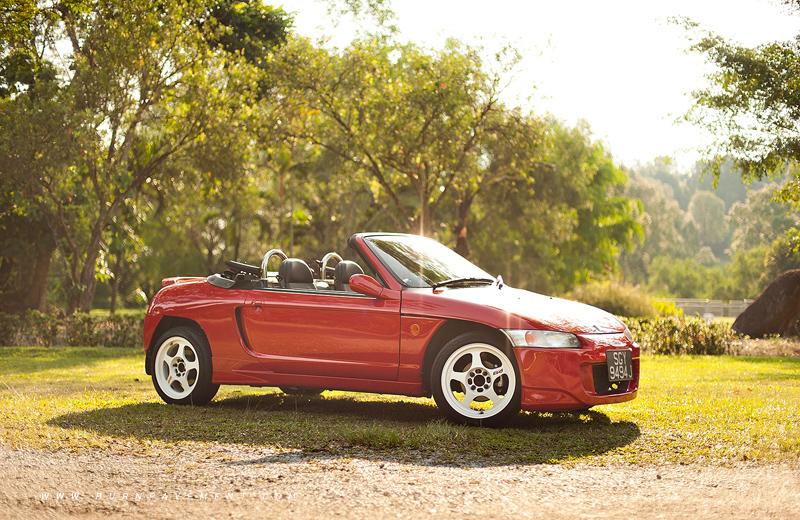Honda Beat, mały roadster, małe samochody z napędem na tył