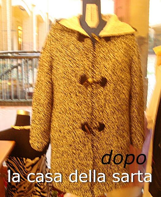 giacca in maglia foderata