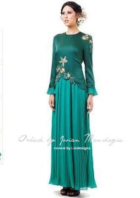 jovian mandagie design baju raya 2013