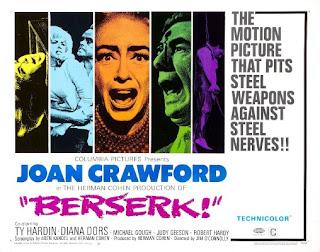 Berserk 1967 poster
