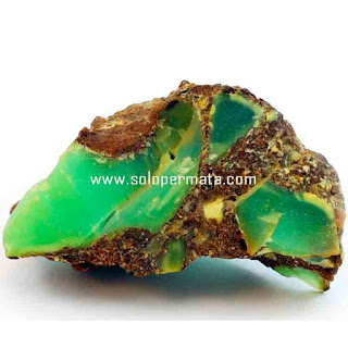 Artikel Batu Permata Natural Chrysoprase