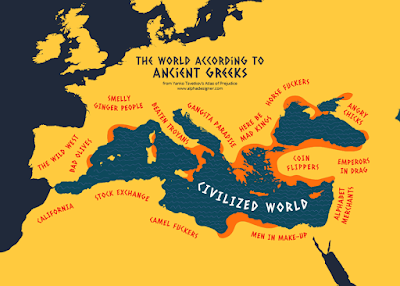 The World according to Ancient Greeks